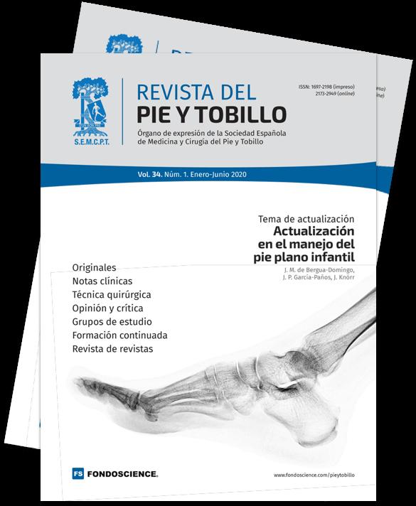 Portada Pie y Tobillo / Junio 2020