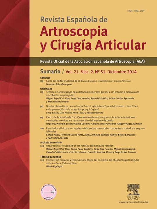 Portada REACA Vol. 21. Fasc. 2. Núm. 51. Diciembre 2014