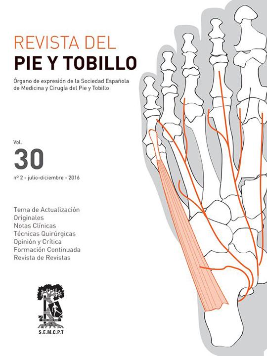 Portada RPT Vol. 30. Núm. 2. Julio-Diciembre 2016